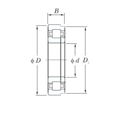 40 mm x 80 mm x 23 mm  KOYO NUP2208R cylindrical roller bearings