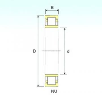 40 mm x 80 mm x 23 mm  ISB NU 2208 cylindrical roller bearings